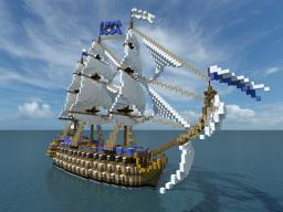 Dauphin: French 1st rate ship of the line Minecraft Map & Project