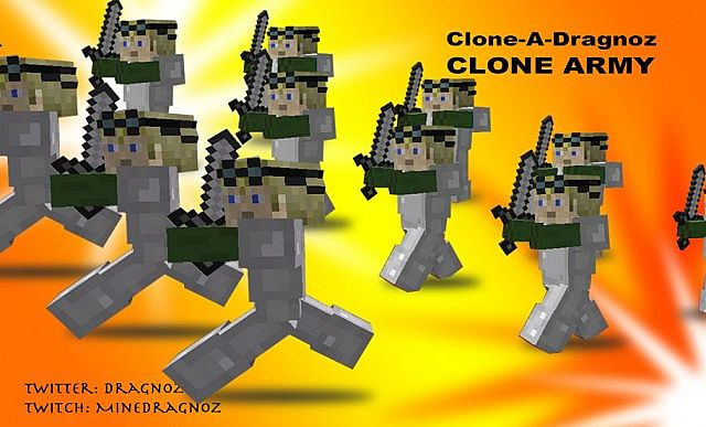 how to make a clone machine in minecraft