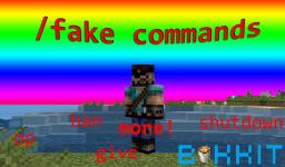 Fake Commands [Bukkit 1.7+]