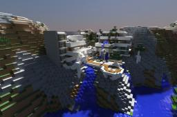 Modern Villa Park Minecraft Map & Project