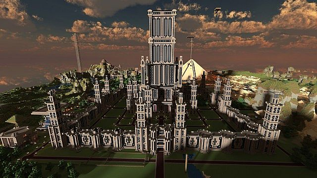 Geektopia, a major city in the world of Erisia. Scatterspell is mayor and is looking for good builders who can work as a team.