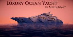 Luxury Ocean Yacht Minecraft