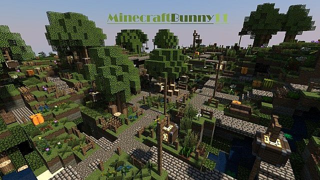 magical garden minecraftbunnygarden minecraft project