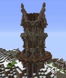 Nordic Watchtower Minecraft Map & Project
