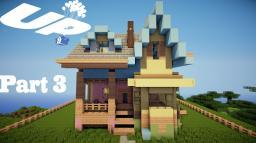 Minecraft: Lets Build Disney Pixar Up House Part 3 Minecraft Map & Project