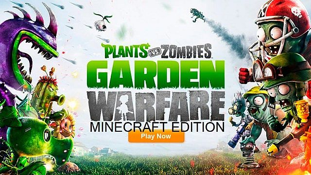 Plants vs zombies garden warfare minecraft edition town map updated minecraft project for Plants vs zombies garden warfare 1