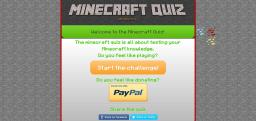 The Minecraft Quiz (Online and Windows version!)