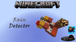Minecraft: Rain Detector Minecraft Map & Project