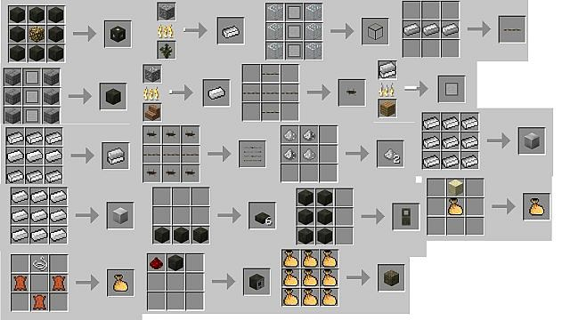 Minecraft Orespawn Mod Crafting Recipes