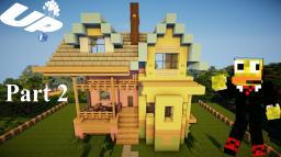 Minecraft: Lets Build Disney Pixar Up House Part 2 Minecraft Map & Project
