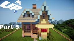 Minecraft: Lets Build Disney Pixar Up House Part 5 Minecraft Map & Project