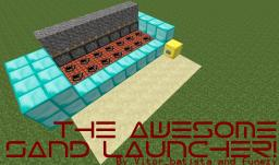 The Awesome Sand Launcher [1.7.10] Minecraft Map & Project