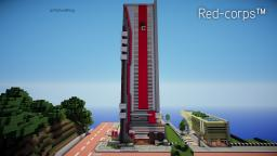 RED-corps HQ Minecraft Map & Project
