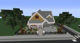 Small Suburban House Minecraft Map & Project