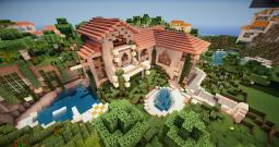 Tuscany style house Minecraft Map & Project