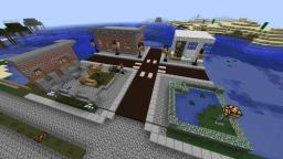 City crossing and building examples Minecraft Map & Project