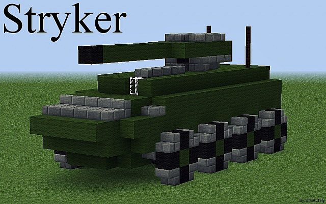 M1126 Stryker Army Vehicle Minecraft Project