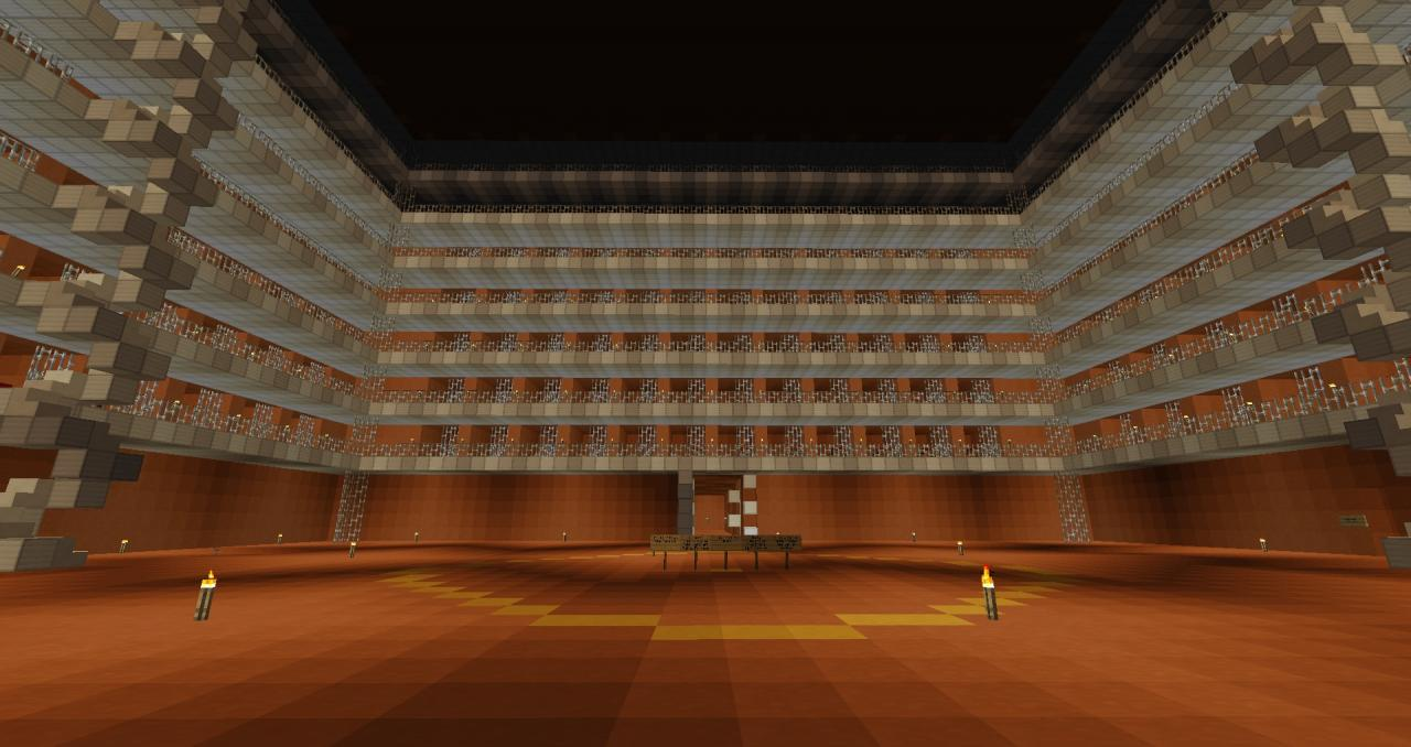 Furnace Penitentiary Minecraft Project