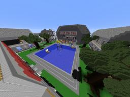 8x Giant Gulliver Town - Houses, Hotel, Shop etc Minecraft Map & Project