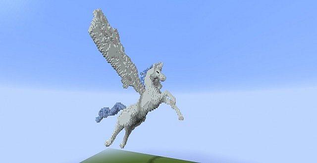 Minecraft Pegasus Building