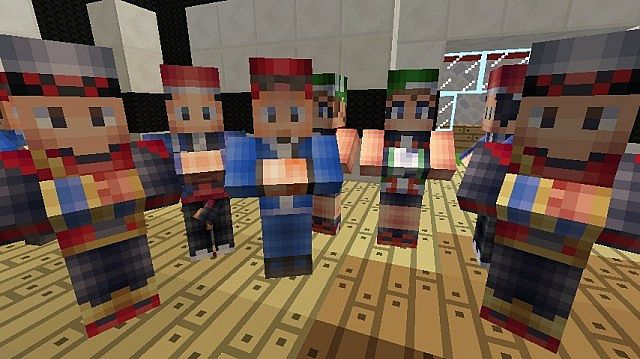 New villager skins D thanks to Seth_Reeds awesome player skins