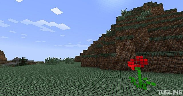 Gridded 256x256 1.7.4 Minecraft Texture Pack