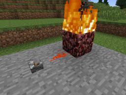 Redstonenetherrack - Just makes netherrack burn. That's all Minecraft Mod
