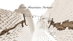 Snow Mountains Parkour Minecraft Map & Project