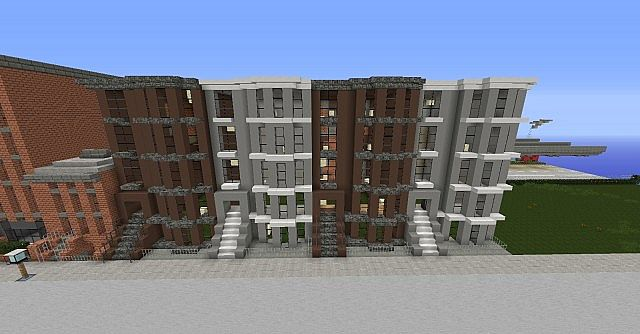 New york town house 39 s minecraft project for New house project