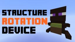 Structure rotation device [Snapshot 1.8] Minecraft Map & Project
