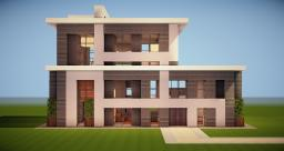 New Modern House Minecraft