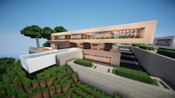 """Spring"" | Modern House | WoK Minecraft Map & Project"