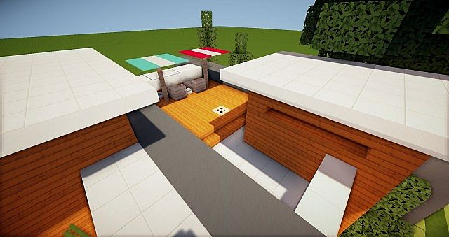 Acacia Modern House 5 Minecraft Project