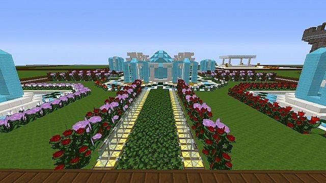 My flower garden minecraft project for Garden designs minecraft