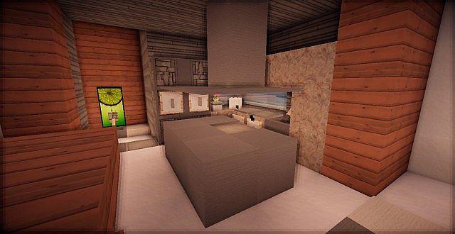 Spruce Tcs Modern House Minecraft Project