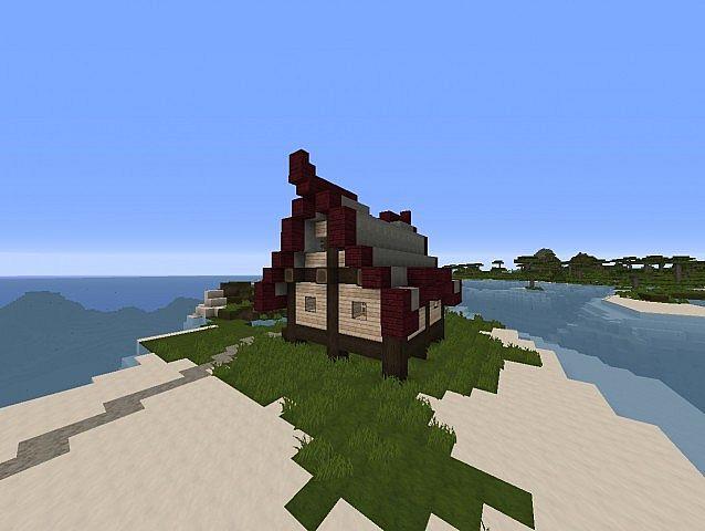 Romantic Chateau Minecraft Project |Romantic Minecraft Builds