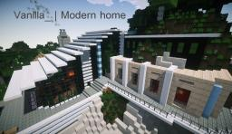 Vanilla_ | Modern Home Minecraft Project