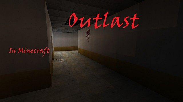 Outlast In Minecraft Horror Map Minecraft Project