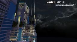 | MODERN | NEXT HQ - Old project Minecraft Map & Project