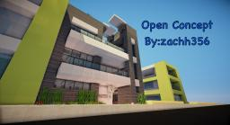 -Open Concept-Modern TCS Build- Minecraft Map & Project