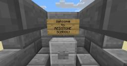Redstone school Minecraft Map & Project