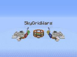 SkyGridWars Minecraft Map & Project