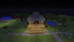Millénaire themed Japanese village Minecraft Map & Project