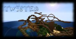 """Twisted"" ~ Rollercoaster Design by TanixMD Minecraft Project"
