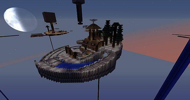 Minecraft Skyblock Island Designs Related Keywords