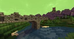 Testing a bridge design Minecraft