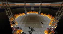 Fire Arena Minecraft Map & Project