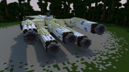 StarWars- Ancient Jedi Cruiser Minecraft