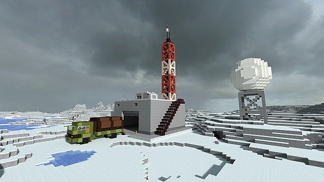 Arctic base Minecraft Project