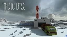 Arctic base Minecraft Map & Project